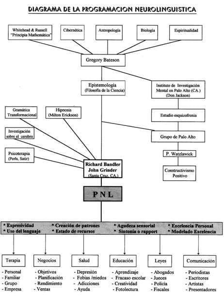 Diagrama de la Programación Neurolingüística