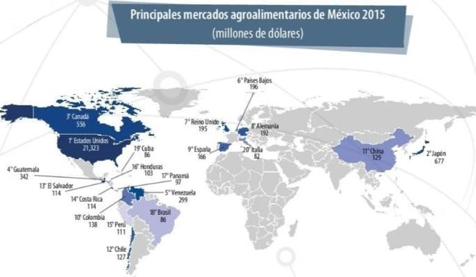 Principales Mercados Agroalimentarios en México