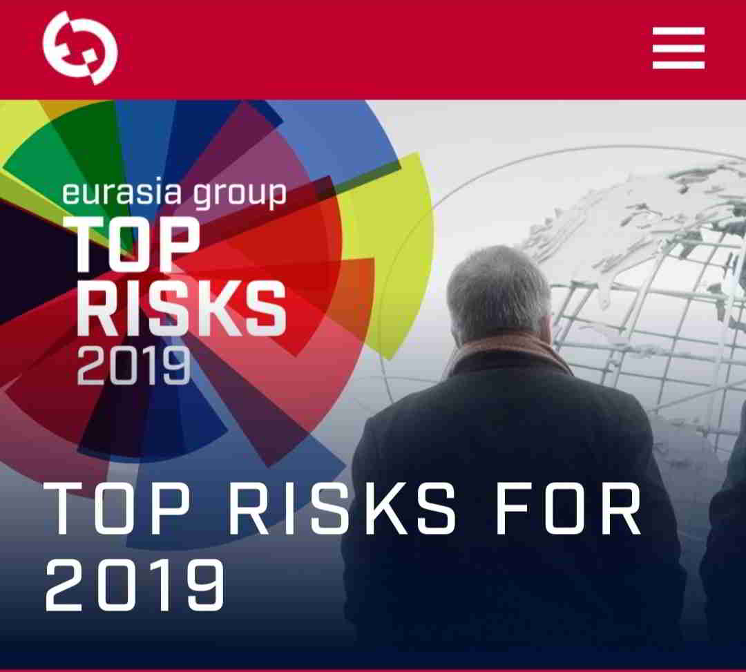 Eurasia Group - Top Risks for 2019