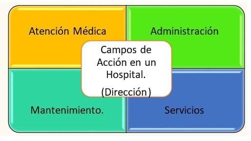 Campos de Acción en la Administración Hospitalaria