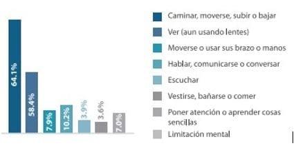 Población por Tipo de Discapacidad en Puebla MX