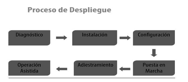 Proceso de despliegue de software