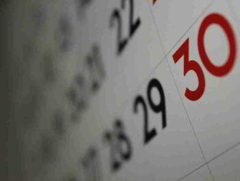 Uso de calendarios para optimizar tu tiempo con objetividad