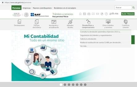 Crear contraseña SAT México