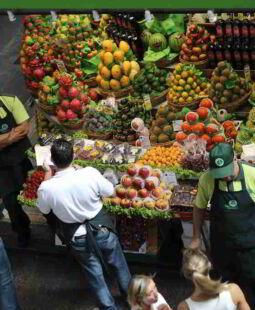 Mercado brasileño Sao Paulo