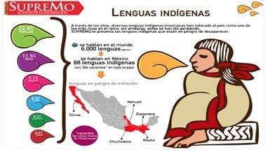 Lenguas indígenas en México. Fuente: imágenes google (2019)
