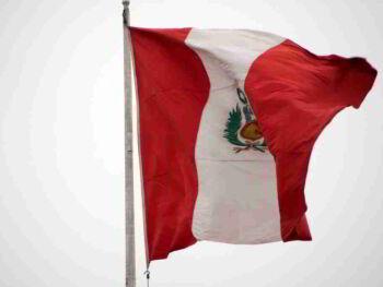 Protocolo de la Bandera Nacional en Perú